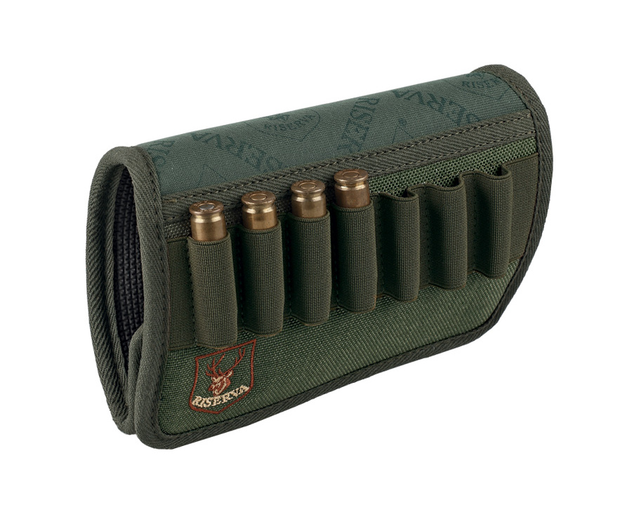 Ammo holder for rifle butt