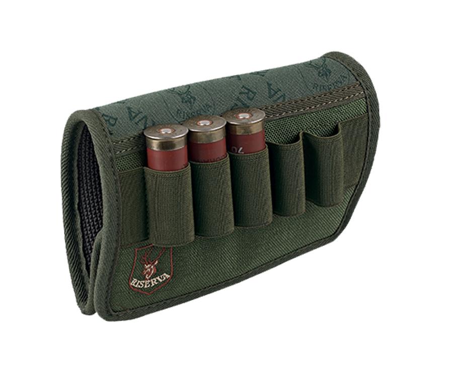 Shotgun butt cartridge holder