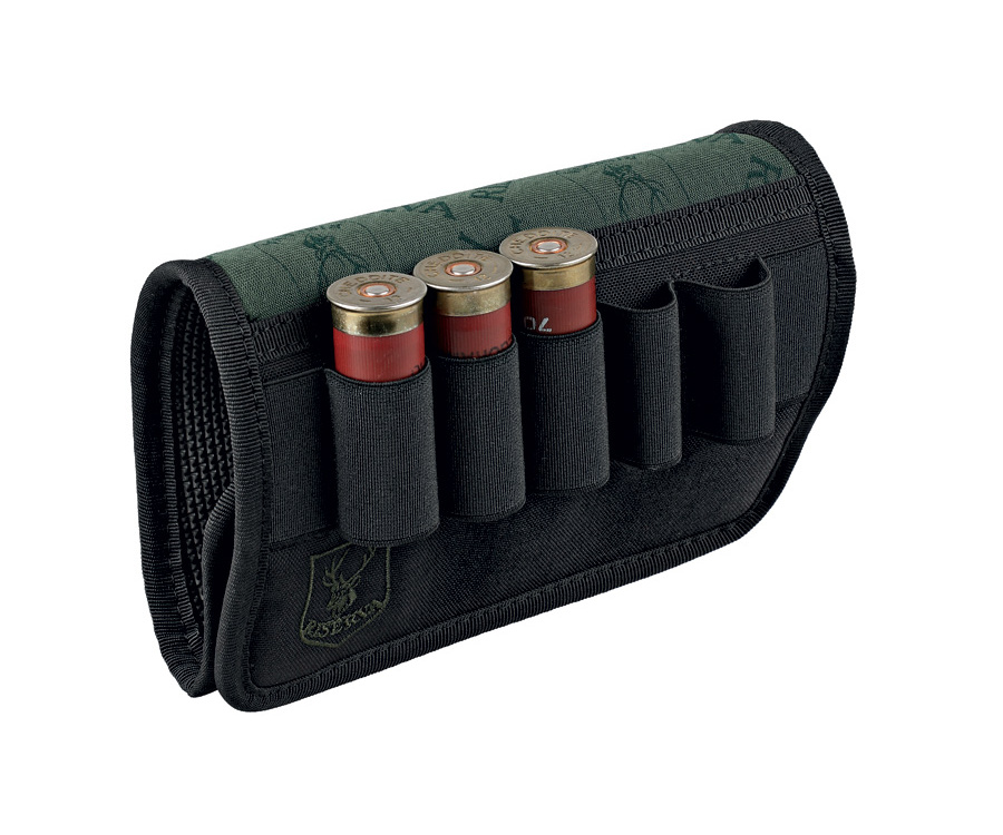 Porta cartuccie per calcio fucile