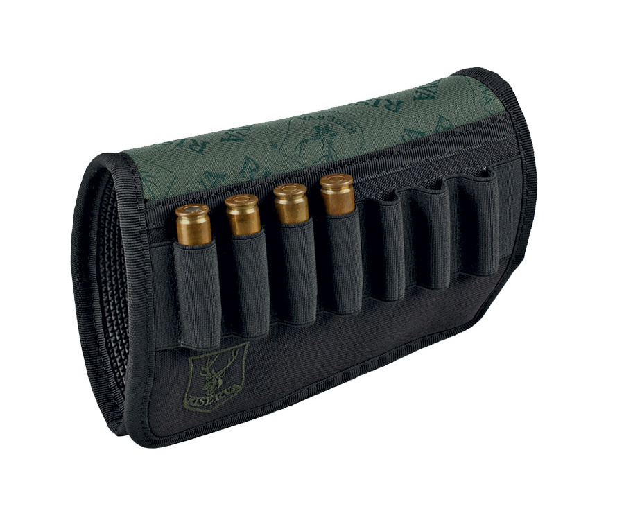 Cartridge case for rifle butt