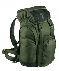 Backpack with rifle pocket