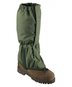 Gaiters with frontal fastening