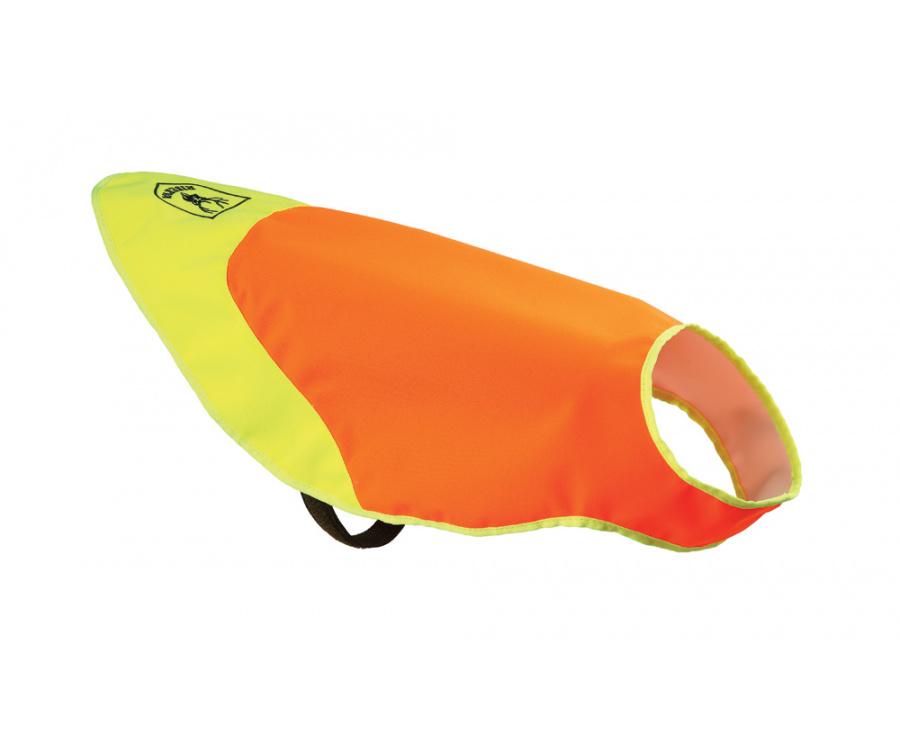 Mantellina per cani alta visibilità