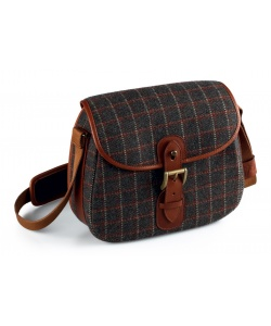 Tweed cartridge bag cm. 27x7x19