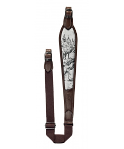Leather shoulder sling